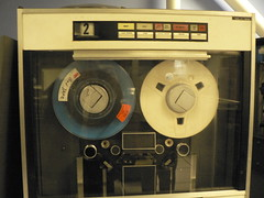 Computer History Museum: Reel-to-reel tape machine