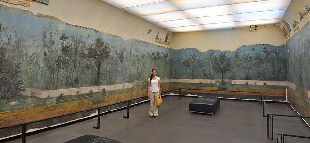 Frescoes from Livia's Villa in Palazzo Massimo