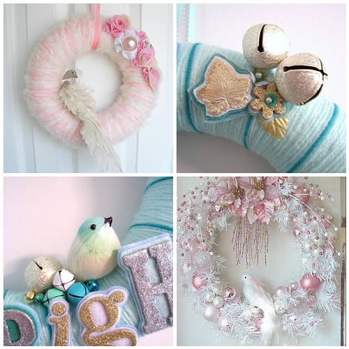 Christmas Wonderland wreath inspiration
