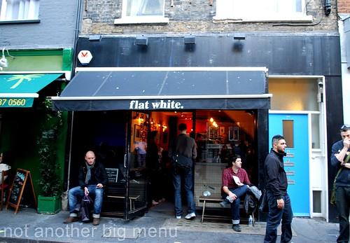 Flat White, Berwick St, Soho
