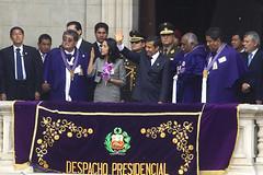 Presidente Ollanta Humala rindi homenaje al Seor de los Milagros (Presidencia Per) Tags: de los milagros seor presidencia tasso humala ollanta