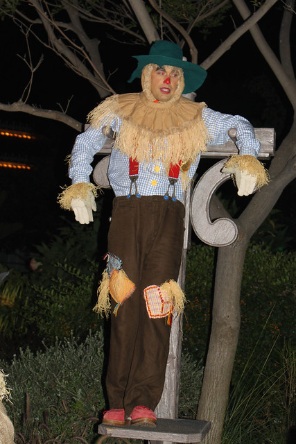 Scarecrow at Central Plaza