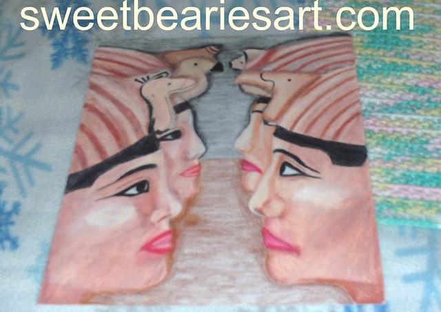 Egyptian Pharaohs Drawing