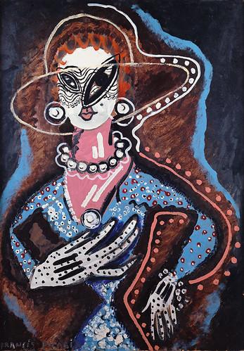 [ P ] Francis Picabia  - Femme au monocle (1924) by Cea.