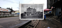 The old Freetown train station