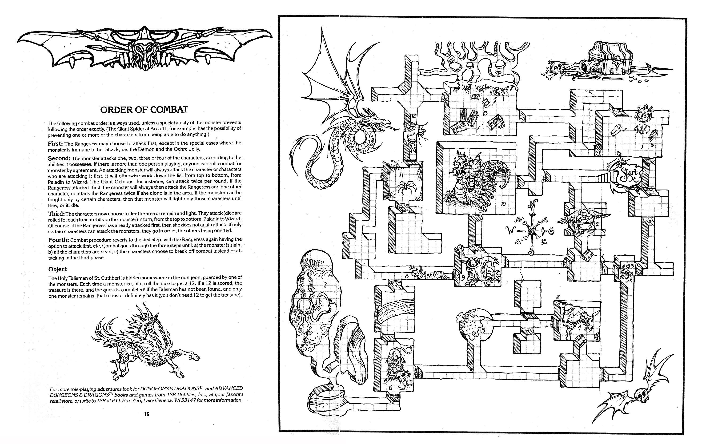 dungeons and dragons coloring pages - photo#37