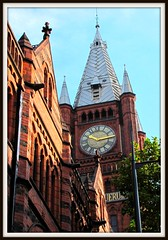 Red Brick paradise (Dazzygidds) Tags: light beautiful architecture liverpool reflections shadows details abstracts ornate sculptures redbrick 1892 walkerartgallery victoriabuilding liverpooluniversity alfredwaterhouse liverpoolarchitecture williambrownstreetconservationarea victoriagalleryandmuseum
