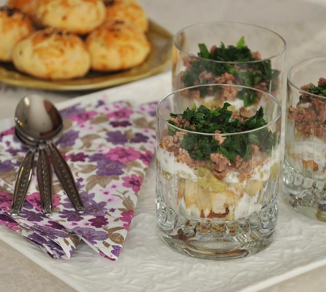 kıymalı patlıcan salatası