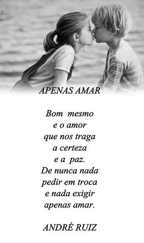 APENAS AMAR by amigos do poeta