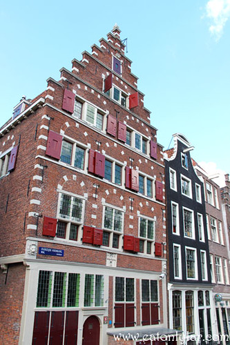 Slanted Buildings, Amsterdam