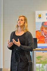 Madeleine Lundin från Marint Centrum i Simrishamn