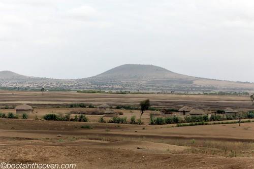 Maasai home