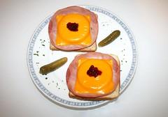 13 - Toast Hawaii - Fertiges Gericht (JaBB) Tags: food kitchen cheese dinner baking essen toast ham chester butter kche ananas kse abendessen backen foodblog schinken rezept toasthawaii foodblogger kochschinken kochexperimente kochexperiment