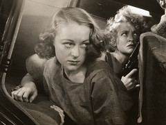 Sally Eilers, Lee Patrick 'Condemned Women' 1938 (Keen Delage) Tags: film movie 1930s escape prison hollywood actress actor 30s backseat