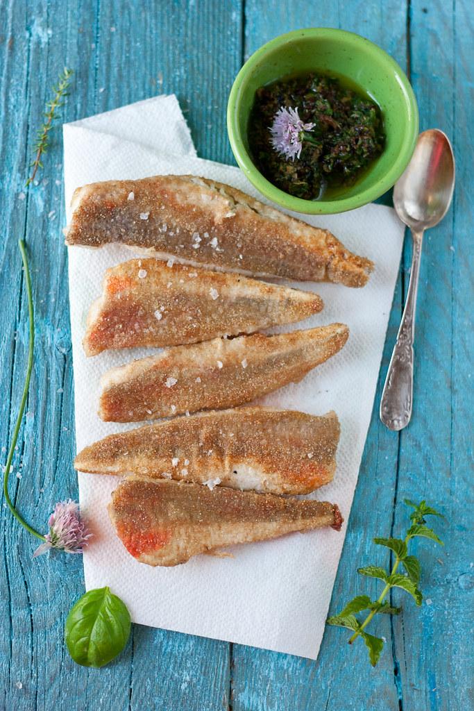 filetti di gallinella alle erbe aromatiche - juls' kitchen - Come Cucinare Filetti Di Gallinella