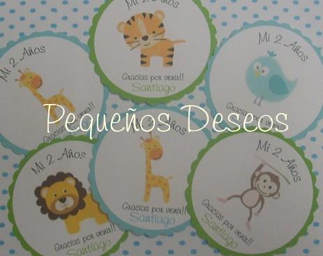 Tarjetas o Stickers by Pequeños Deseos