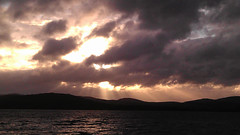Sunset over Lough Swilly