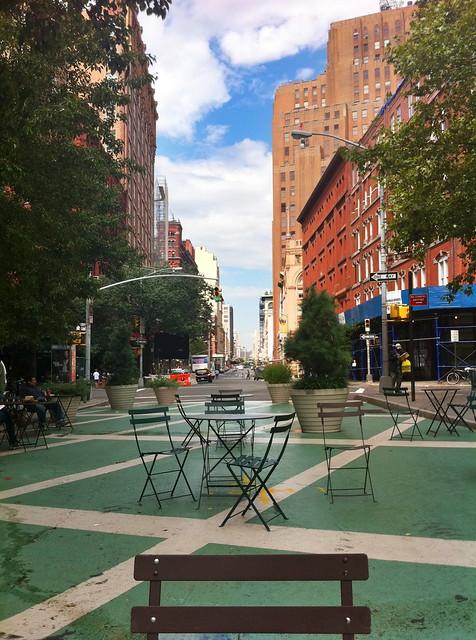 Bogardus Plaza, Hudson Street at Reade Street, Tribeca