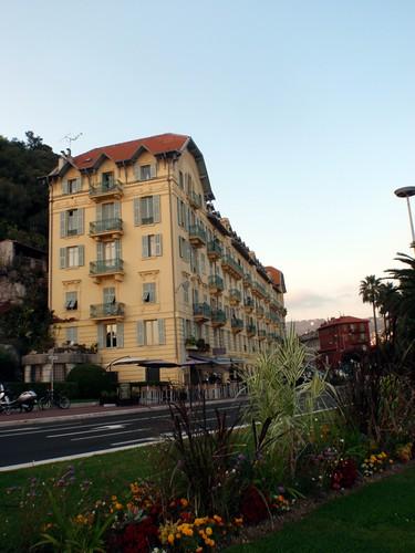 Kamienice w Nicei