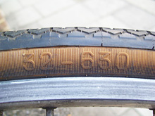Traditional British Road Tyre