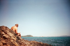 , (benedetta falugi) Tags: sea summer film beach analog 22mm eximus benedettafalugi