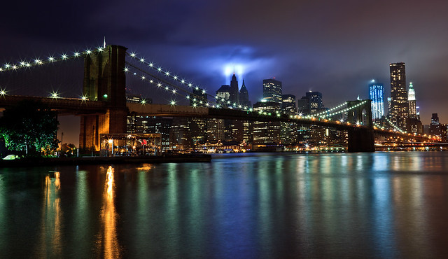 9/11 10th Anniversary Tribute in Light