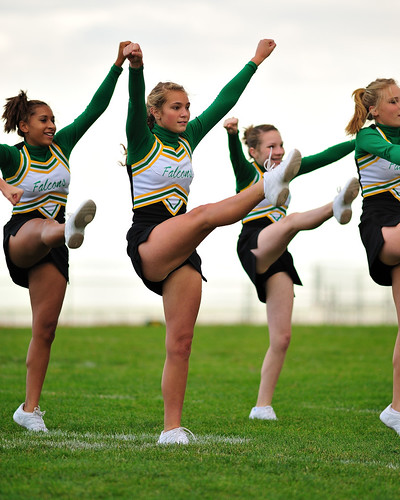 Falcon C-Squad Cheerleaders