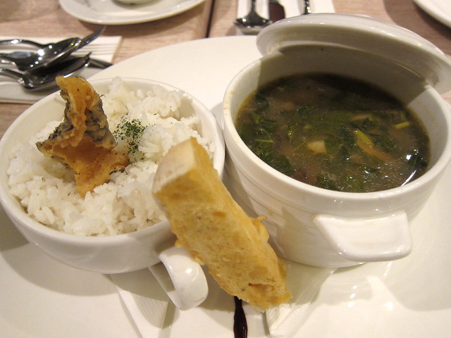 Sea bass sinigang