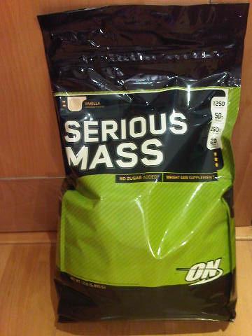 Optimum Nutrition Serious Mass 5.45kg R550