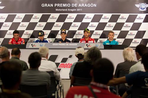 Jornada Jueves Moto GP Motorland Aragon