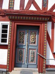 Eingang zum Alten Rathaus von Rehe