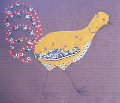 Chicken Collage Day 6 (Sept 17 2011) by randubnick