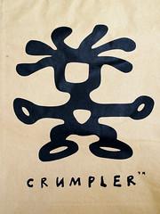 Crumpler (Don Abrenica) Tags: blue light logo availablelight crumpler ambient product laptopbag skivvy nikkor60mm nikond300s