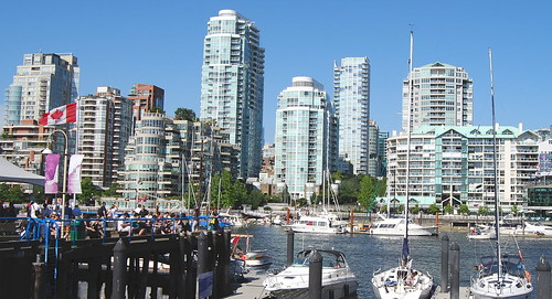 False Creek from Granville Island