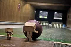 play bowling... [73/365] (Alexandra Schwarz Photografie) Tags: canon september bowling danbo 2011 revoltech danboard 1000d