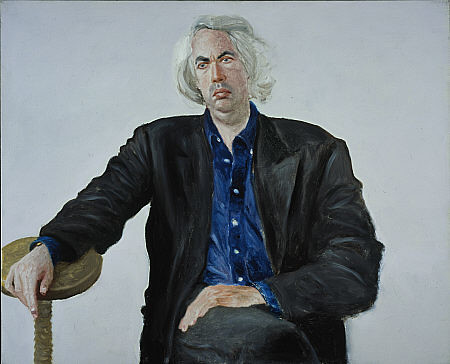 Arikha, Avigdor (1929-2010) - 1992 Portrait of Leon Wieseltier (National Galleries of Scotland, Edinburgh)