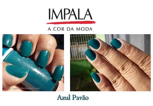 Impala Disco - Azul Pavão