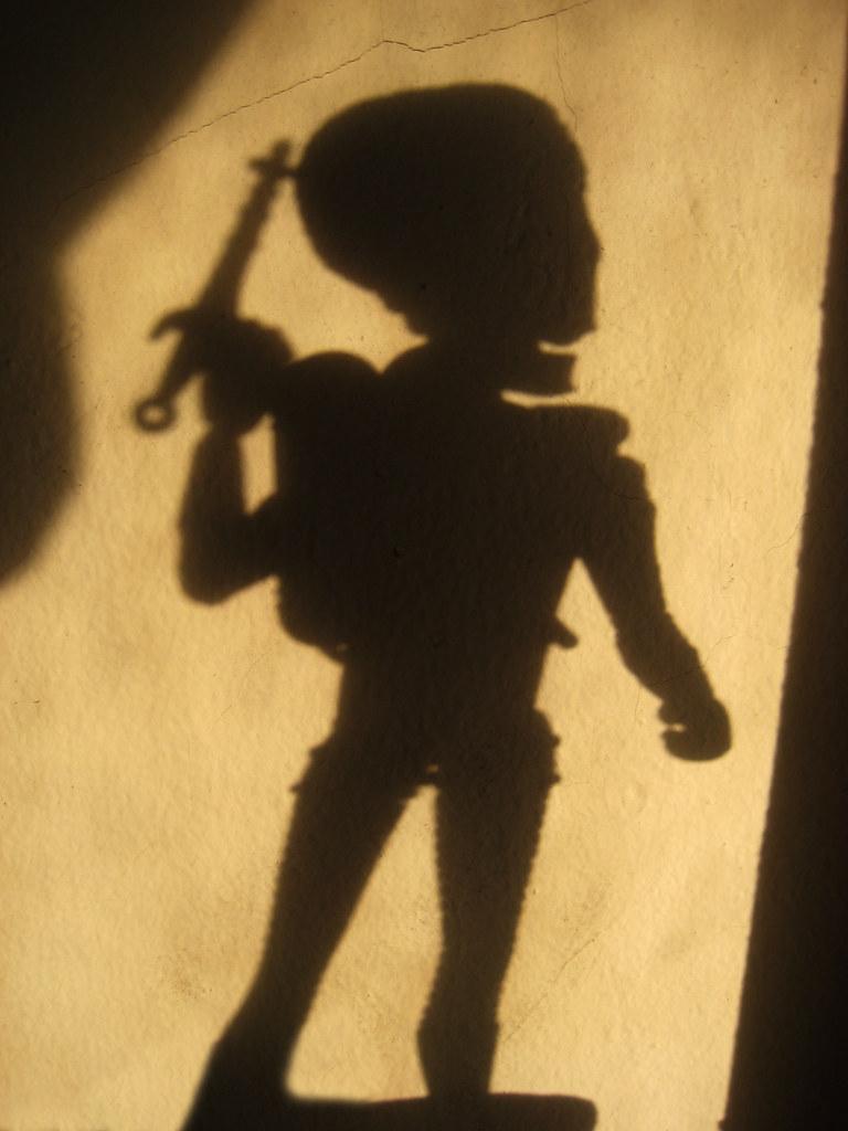 Mars Attacks Martian Alien Mutant Wall Shadow 0577