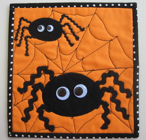 Googly Eyed Spiders