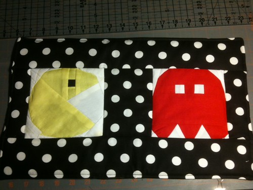 Pac-man placemat