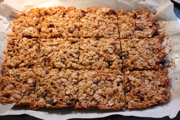 Julie's Date Flapjacks