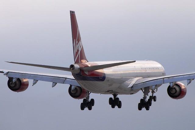Virgin Atlantic Airways Airbus A340-642 (G-VSSH)