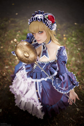 Le Chevalier D'Eon Lia de Beaumont Cosplay
