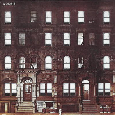 Led Zeppelin - Physical Graffiti (Back Cover)