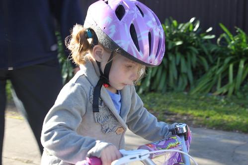 Amelia bike riding