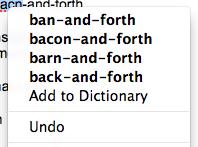 Spelling help