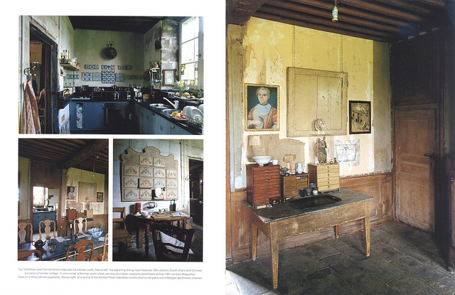 "Le Château in ""World of Interiors"" 2004 July issue- 3"
