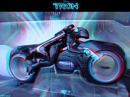 OMG IT'-S THE LIGHT CYCLE FROM TRON!!11! | Tron legacy and Sci fi