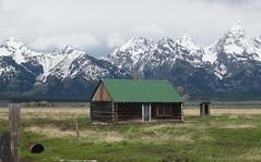 TetonBarn (RealtorNigel) Tags: mountains nationalpark mormon tetons grandteton mormonbarn