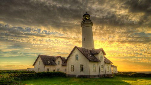 Hirtshals lighthouse, Denmark by magnetismus, on Flickr
